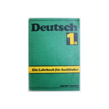 DEUTSCH 1a  - EIN LEHRBUCH FUR AUSLANDER , TEIL 1 a ( 1- 20  LEKTION )  von HELGA DIELING ...ANGELA TIETZE , 1987
