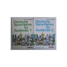 DEUTSCHE SPRACHLEHRE FUR AUSLANDER von SCHULZ und GRIESBACH , VOL. I - II , 1995