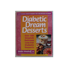 DIABETIC DREAM DESSERTS by SANDRA WOODRUFF , 1996