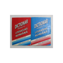 DICTIONAR ANTOLOGIC DE LITERATURA ROMANA - PROZATORI , ISTORICI , CRITICI LITERARI , ESEISTI , coordonare CONSTANTA BARBOI si ROdICA CHIRIACESCU , VOLUMELE I - II , 2001