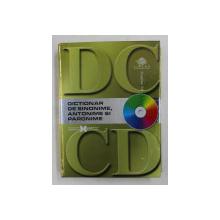 DICTIONAR DE SINONIME , ANTONIME SI PARONIME , 2007 , CONTINE CD *