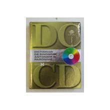 DICTIONAR DE SINONIME , ANTONIME SI PARONIME , 2007 , LIPSA CD*
