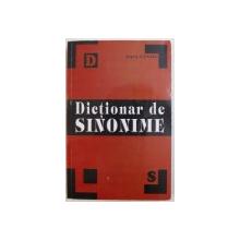 DICTIONAR DE SINONIME de ANGELA ICONARU , 2010