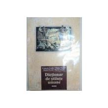DICTIONAR DE STIINTE UMANE  2000