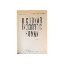 DICTIONAR ENCICLOPEDIC ROMAN de ACAD. ATHANASE JOJA, VOL I-IV , 1962
