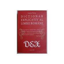DICTIONAR EXPLICATIV AL LIMBII ROMANE de LUCIAN PRICOP , 2020