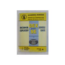 DICTIONAR EXPLICATIV PENTRU STIINTELE EXACTE - ELECTROTEHNICA ELTH 13  - ROMAN , ENGLEZ , FRANCEZ , RUS , 2003