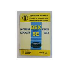 DICTIONAR EXPLICATIV PENTRU STIINTELE EXACTE - ELECTROTEHNICA ELTH 14 - MASURARI IN ELECTRICITATE  - ROMAN , ENGLEZ , FRANCEZ , RUS , 2003