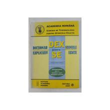 DICTIONAR EXPLICATIV PENTRU STIINTELE EXACTE - ELECTROTEHNICA ELTH 15 - COMANDA SI REGLARE , AUTOMATIZARI INDUSTRIALE  - ROMAN , ENGLEZ , FRANCEZ  , 2004