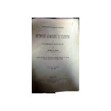Dictionar geografic si statistic al judetului Covurluiu    -Moise N. Paicu  -GALATI  1892