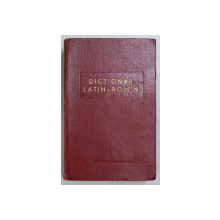DICTIONAR LATIN - ROMAN  BUCURESTI 1962