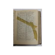 DICTIONAR MAGHIAR  - ROMAN  - PENTRU SCOALA SI PRIVATI de ION GHETIE , 1906