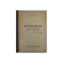 DICTIONAR MUZICAL ILUSTRAT de A. L. LIVELA