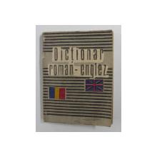 DICTIONAR ROMAN - ENGLEZ de ARISTITA NEGREANU , 2000 , FORMAT MIC