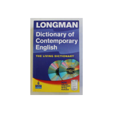 DICTIONARY OF CONTEMPORARY ENGLISH - TH ELIVING DICTIONARY by DELLA SUMMERS , 2003 , LIPSA CD*