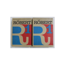 DICTIONNAIRE DE LA LANGUE FRANCAISE - PETITI ROBERT , VOLUMELE I - II , 1983