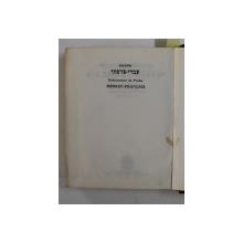DICTIONNAIRE FRANCAIS - HEBREU / HEBREU - FRANCAIS , DE POCHE , ANII '70 , TIPARITA FATA - VERSO