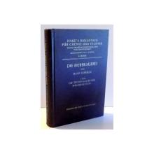 DIE BIERBRAUEREI VON HANS LEBERLE, I. TEIL, DIE TECHNOLOGIE DER MALZBEREITUNG (TEHNOLOGIA BERII), VOL 4 1930