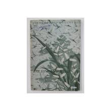 DIE EINTAGSFLIEGEN ( EFEMERIDE ) von HORST GLEIS , CARET DIN BIBLIOTECA LUI VASILE COTTA , 1954