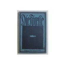 DIE FORELLE UND IHR FANG ( PASTRAVUL SI PRINDEREA LUI )  von ARTHUR SCHUBART , EDITIE CU CARACTERE GOTICE , 1927