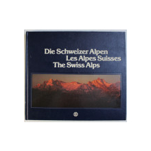 DIE SCHWEIZER ALPEN - LES ALPES SUISSES - THE SWISS ALPS , fotografie EDMOND VAN HOORICK , text JEAN - CHRISTIAN SPAHNI ...HEINRICH RUTTIMAN , 1983