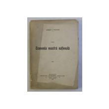 DIN ECONOMIA NOASTRA NATIONALA de ANDREI A. POPOVICI , 1904