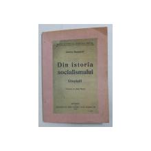 DIN ISTORIA SOCIALISMULUI  - UTOPISTII de CHARLES RAPPOPORT , 1920