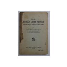 DIN METODICA LIMBEI FRANCEZE - INDRUMARI PENTRU EXPLICARE DE TEXTE de ELENA RADULESCU - POGONEANU  , 1935