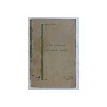 DIN PROBLEMELE LOCALISMULUI EDUCATIV de STANCIU STOIAN , 1932, COPERTA CU URME DE UZURA *