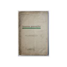 """DINAMICA GENERATIILOR de CLAUDIU USATIUC , EXTRAS DIN """" INSEMNARI SOCIOLOGICE """" NR. 9 / 1937 , 1938 , DEDICATIE*"""