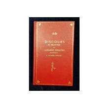 DISCOURS DE M. ALEXANDRE DUMAS FILS REPONSE DE M. HAUSSONVILLE - PARIS, 1875