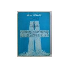 DIVIN SI UMAN IN SPIRITUALITATEA ROMANEASCA de MIHAI CAZACU , 1994