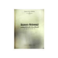 DOCUMENTE MOLDOVENESTI PRIVITOARE LA FAMILIA DE BOIERI NEANIUL  CU UN STUDIU   - IASI 1938