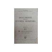 DOCUMENTE PRIVIND ISTORIA ROMANIEI  VEACUL XV  A. MOLDOVA ,vol 2