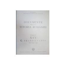 DOCUMENTE PRIVIND ISTORIA ROMANIEI.VEACUL XIV C. TRANSILVANIA VOL 1 (1301-1320)  1953