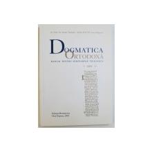 DOGMATICA ORTODOXA  - MANUAL PENTRU SEMINARIILE TEOLOGICE de ISIDOR TODORAN si IOAN ZAGREAN , 2003