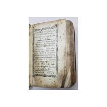 DOISPREZECE PSALMI - MANASTIREA NEAMT, 1836