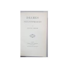 DRAMES PHILOSOPHIQUES par ERNEST RENAN - PARIS, 1923