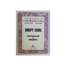 DREPT CIVIL - TEORIA GENERALA A OBLIGATIILOR de CONST. STATESCU , CORNELIU BARSAN , 1995