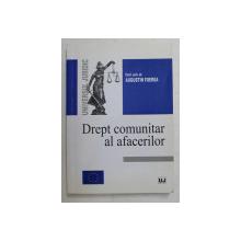 DREPT COMUNITAR AL AFACERILOR de AUGUSTIN FUEREA, BUC. 2003