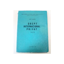 DREPT INTERNATIONAL PRIVAT VOLUMUL 2-ION P.FILIPESCU