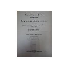 DREPTUL CAPULUI STATULUI DE AMISTITIE SI DE A IERTA SAU MICSORA PEDEPSELE- GEORGE D. NEDELCU-BUC.1906