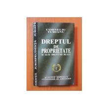 DREPTUL DE PROPRIETATE SI ALTE DREPTURI REALE de CORNELIU TURIANU , Bucuresti 2005