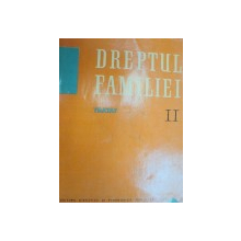 DREPTUL FAMILIEI.TRATAT 2 - TUDOR R. POPESCU  1965