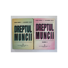 DREPTUL MUNCII de SANDA GHIMPU si ALEXANDRU TICLEA , 1994