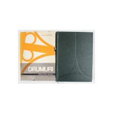 DRUMURI CIRCULATIE-TRASEU-CONSTRUCTIE,2 VOLUME,BUCURESTI 1968