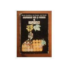 DRUMURILE VIEI SI VINULUI IN ROMANIA de GHERASIM CONSTANTINESCU, AUREL I. GHEORGHIU, ANIBAL I. GHEORGHIU  1977