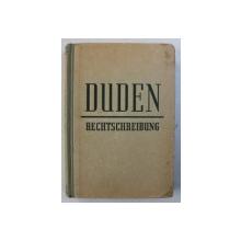 DUDEN - RECHTSCHREIBUNG , 1952
