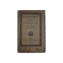 ECLAIRCISSEMENTS HISTORIQUES FAISANT SUITE AUX OEUVRES DE ROLLIN par M. LETRONNE , 1825
