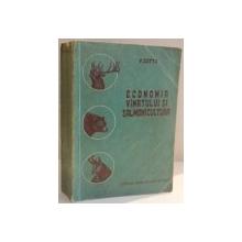 ECONOMIA VANATULUI SALMONICULTURA de V. COTTA , 1956